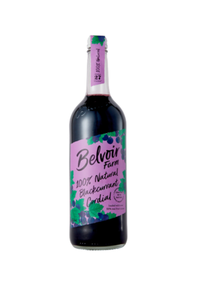 100% Natural Blackcurrant Cordial