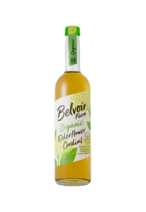 Organic Elderflower Cordial